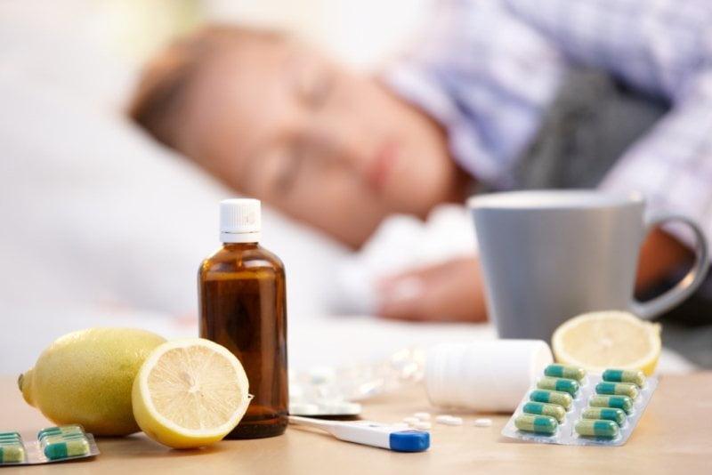 gripa pneumonie